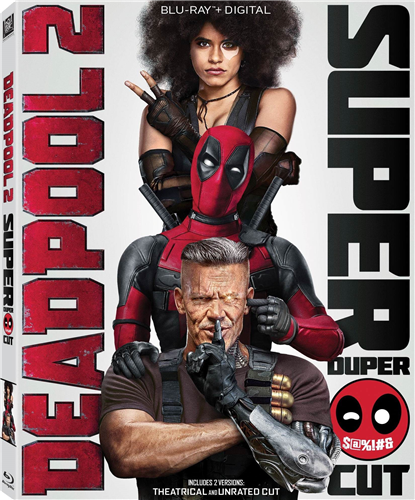 Дэдпул 2 (расширенная версия) / Deadpool 2 (Super Duper Cut) (2018)
